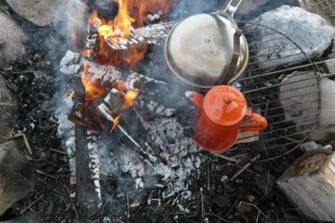 Naturchuchi – Wildkräuter auf dem Feuer